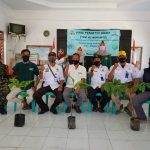 KKN Mahasiswa STKIP NU Indramayu Lakukan Gerakan Penghijauan 200 Pohon
